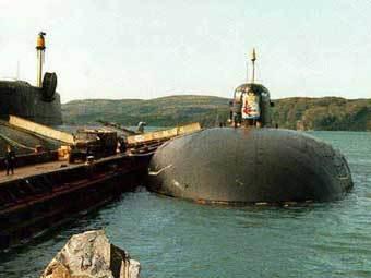 """Подводница """"Омск"""" проект 949А"""