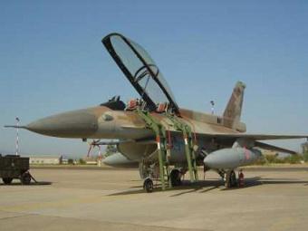 F-16D ВВС Израиля. Фото с сайта aces.safarikovi.org