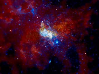 Стрелец А*. Изображение NASA/CXC/MIT/F K Baganoff et al.