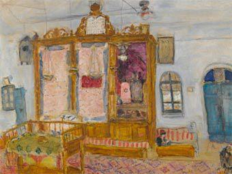 Фрагмент одной из выставленных на торги картин Шагала. Изображение с сайта Sotheby's