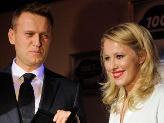 Алексей Навальный и Ксения Собчак. Архивное фото РИА Новости, Григорий Сысоев