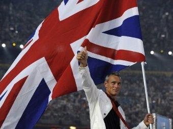 Марк Фостер на церемонии открытия Олимпиады-2008. Фото ©AFP