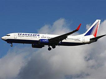 "Boeing 737 авиакомпании ""Трансаэро"". Фото с сайта aero-news.ru"