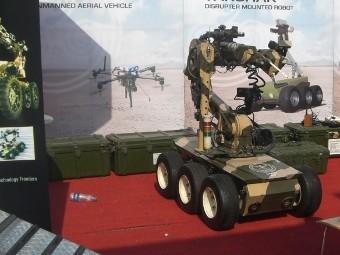 Прототип робота Takshak. Фото с сайта jjamwal.wordpress.com