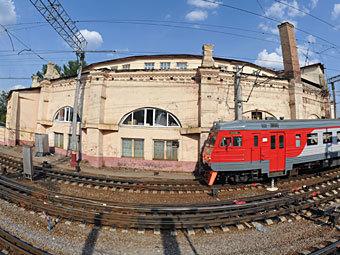 Круговое депо. Фото РИА Новости, Александр Уткин