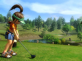 Скриншот Everybody's Golf