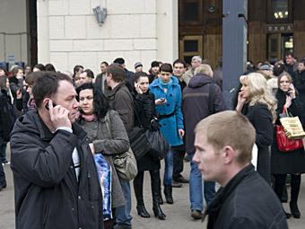 Москвичи. Фото РИА Новости, Сергей Илюшин