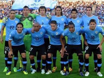 Сборная Уругвая по футболу. Фото ©AFP