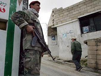 Ливанский военный патруль. Фото ©AFP