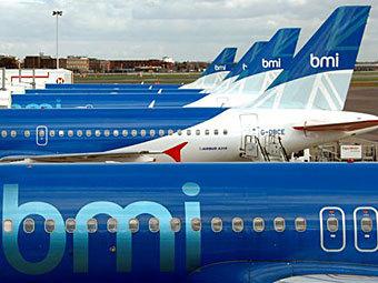 Самолеты авиакомпании British Midland. Фото ©AP