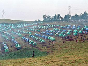 Лагерь беженцев в Руанде. Архивное фото ©AFP