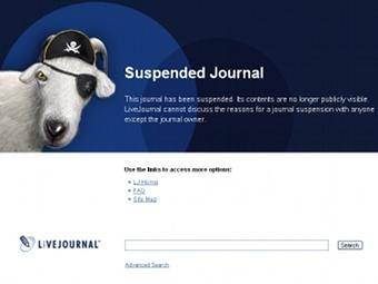 Скриншот сайта livejournal.com