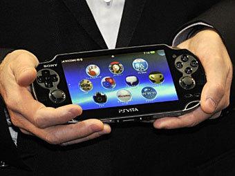 PS Vita. Фото ©AFP