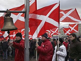 """Митинг движения """"Наши"""". Фото ©AFP"""