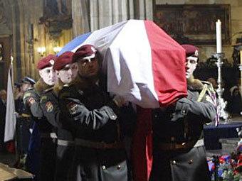 Прощание с Вацлавом Гавелом. Фото ©AFP