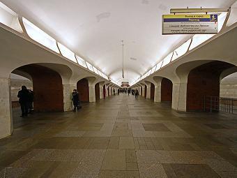 "Станция ""Боровицкая"". Фото A.Savin с сайта Wikipedia.org"