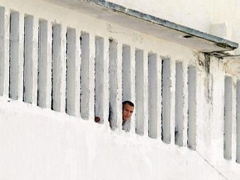 Заключенный в кубинской тюрьме. Фото ©AFP