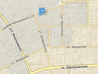 Район места происшествия на карте Москвы. Изображение с сайта maps.rambler.ru
