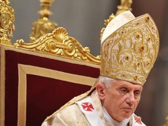 Бенедикт XVI. Фото ©AFP