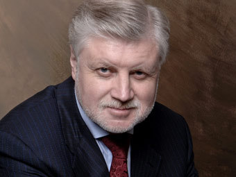 Сергей Миронов. Фото с официального сайта