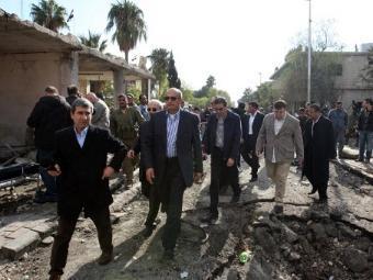 Группа арабских наблюдателей в Сирии. Архивное фото ©AFP