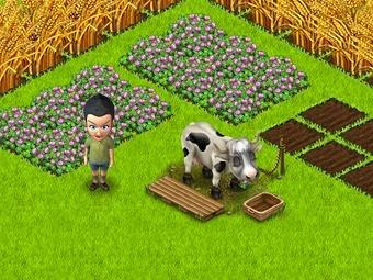 """Скриншот игры """"Территория фермеров"""""""