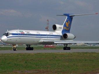 """Ту-154"" авиакомпании Iran Air. Фото с сайта aviatime.com"