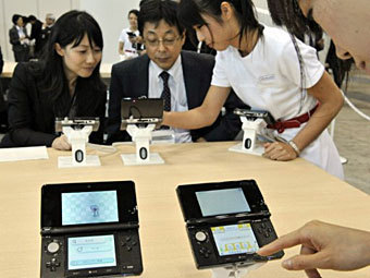 Магазин Nintendo. Фото ©AFP