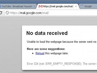 Скриншот сайта gmail.com
