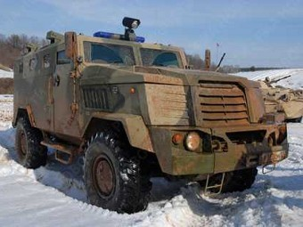"Бронемашина СПМ-3 ""Медведь"". Фото с сайта narodnews.ru"