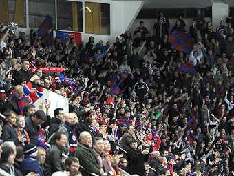 Болельщики ЦСКА. Фото с официального сайта клуба