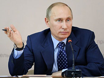 Владимир Путин. Фото ©AFP