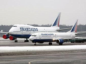 "Самолеты авиакомпании ""Трансаэро"". Фото с сайта aero-news.ru"