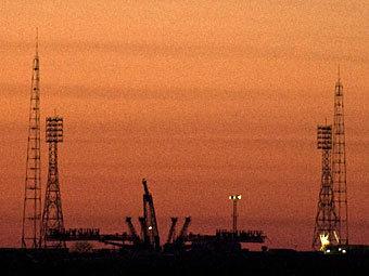 "Космодром ""Байконур"". Фото NASA"