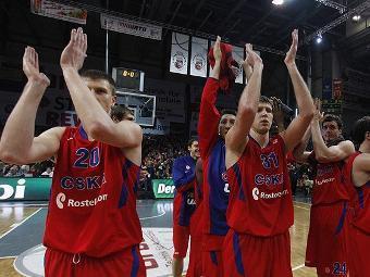 Баскетболисты ЦСКА. Фото с официального сайта клуба