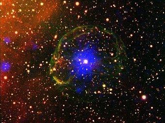 SXP 1062. Фото XMM-Newton