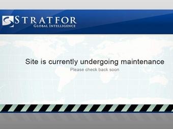 Скриншот сайта stratfor.com