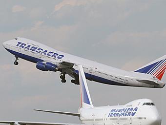 """Самолеты авиакомпании """"Трансаэро"""". Фото с сайта transaero.ru"""