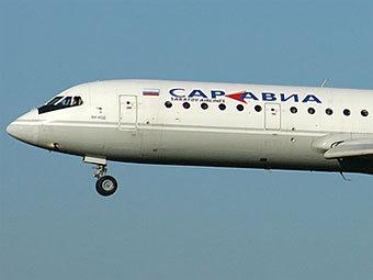 "Самолет ""Саратовских авиалиний"". Фото с сайта airplanes.net"