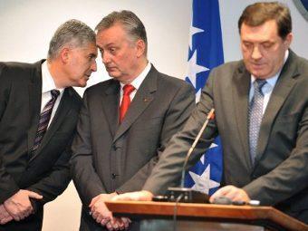 Представители боснийских партий. Фото ©AFP