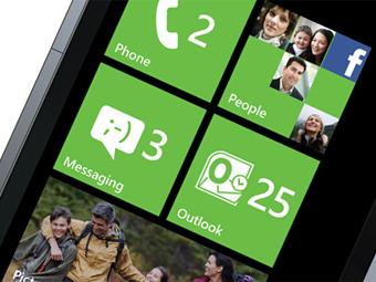 Интерфейс Windows Phone 7