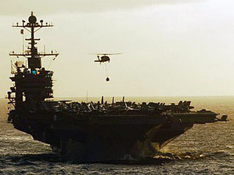 "Авианосец ""Джон Стеннис"". Фото ©AFP"