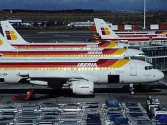 Самолеты авиакомпании Iberia. Фото ©AFP