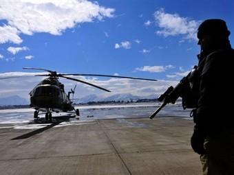 Ми-17 в аэропорту близ Кабула. Архивное фото ©AFP
