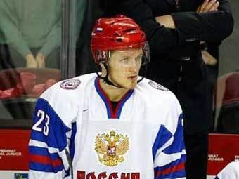 Иван Телегин. Фото с официального сайта Федерации хоккея России