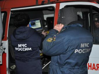 Сотрудники МЧС в Кызыле. Фото РИА Новости, Иван Афанасьев