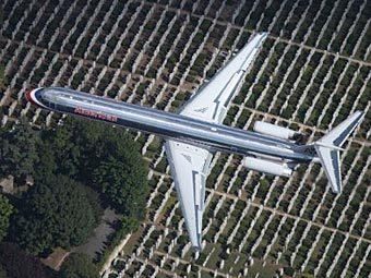 Самолет American Airlines. Фото ©AFP