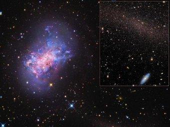 NGC 4449. Фото авторов исследования