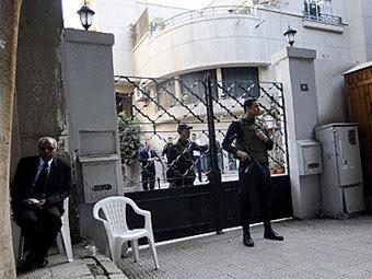 Здание офиса одной из правозащитных организаций в Каире. Фото ©AFP