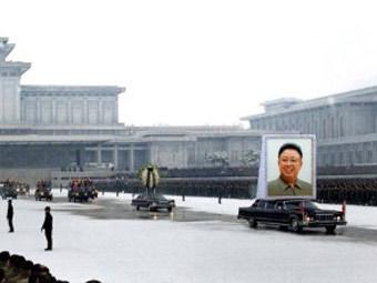 Похороны Ким Чен Ира. Фото ©AFP